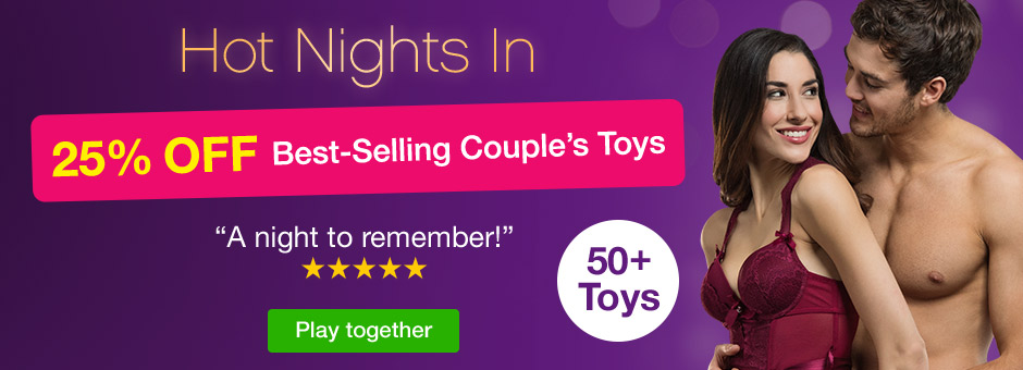 Hot Nights In: 25% OFF Sex Toys for Couples