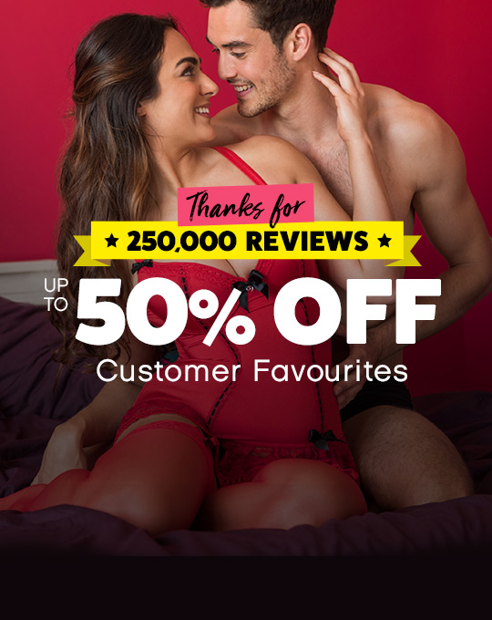 Thanks for 250,000 reviews! Up to 50% off Customer Favourites