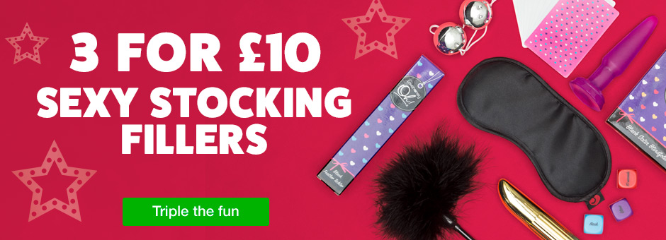 3 for 10 Sexy Stocking Fillers