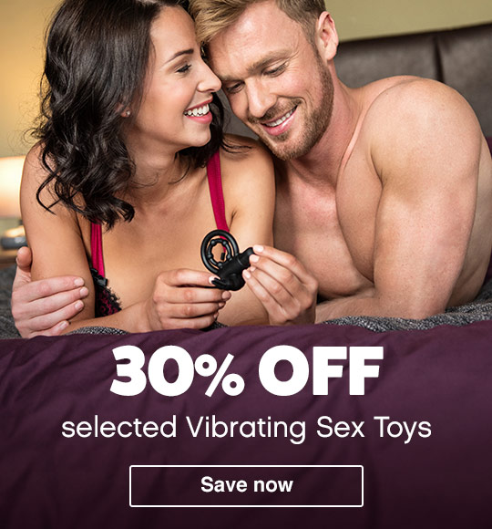 30% off vibrating toys