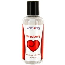 Lovehoney Strawberry Flavoured Lubricant 100ml