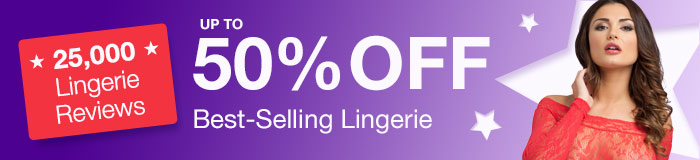 up to 50% off best-selling lingerie