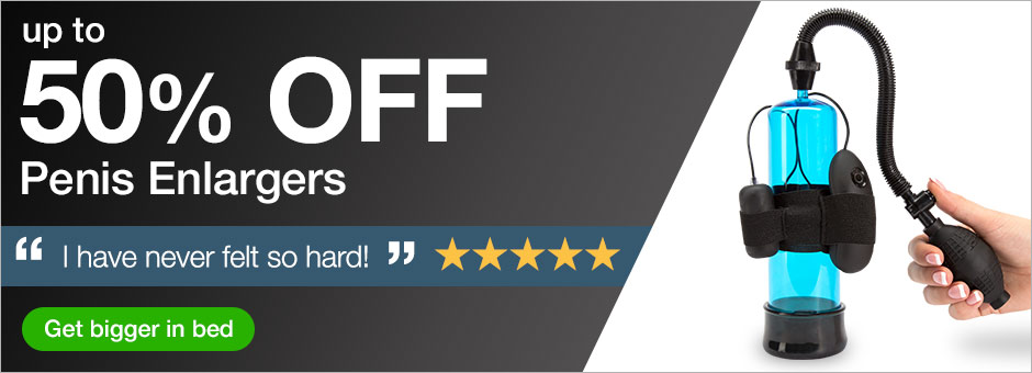 up to 50% off penis enlargers