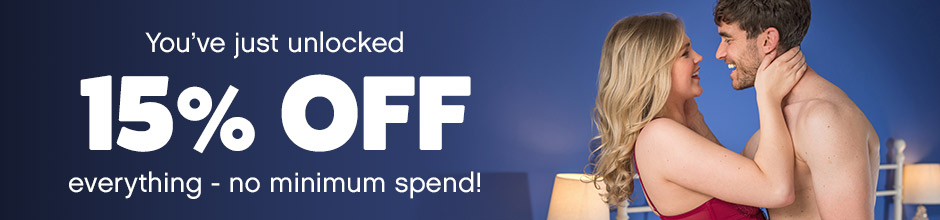 You've just unlocked 15% off everything - no minimum spend!
