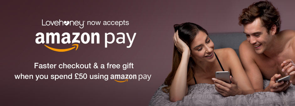 Faster checkout and a free gift when you spend £50 using Amazon Pay