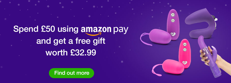 Free gift worth £32.99 when you spend £50 using Amazon Pay