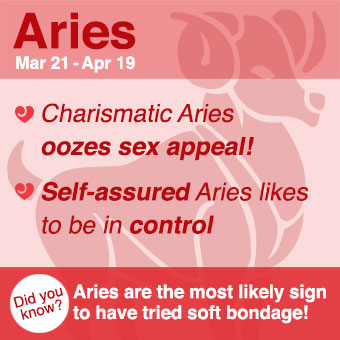 Aries lovers are all about the chase!