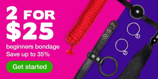 2 for $25 Beginners Bondage
