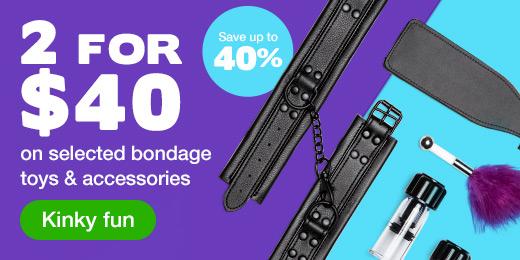 2 for $40 Bondage Toys