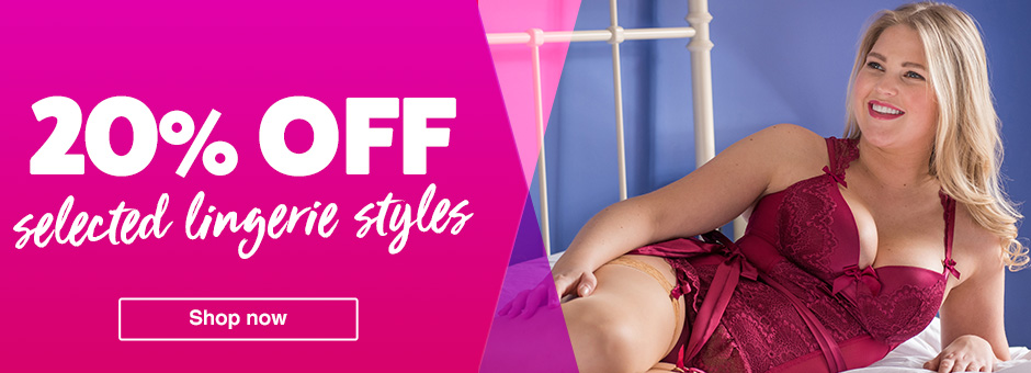 20% Off Selected Lingerie Styles