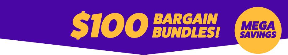 $100 Bargain Bundles Arrow