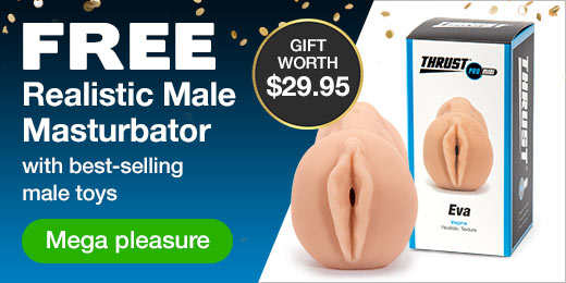 FREE Male Masturbator with Best-Selling Male Toys