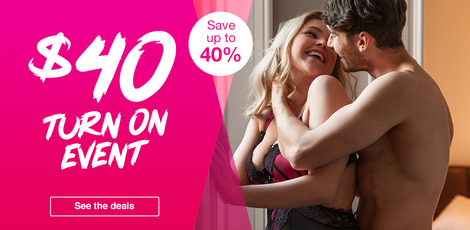 $40 Turn On Event - save up to 40%
