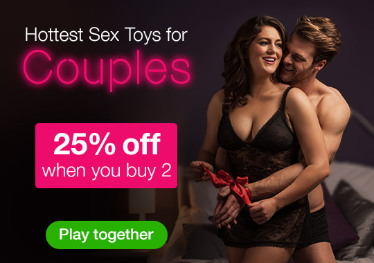25% off when you buy 2 Sex Toys for Couples