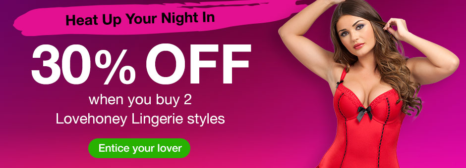 30% off when you buy 2 Lovehoney Lingerie Sets