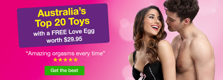 Australia's Top 20 Toys with a FREE Love Egg worth $29.95