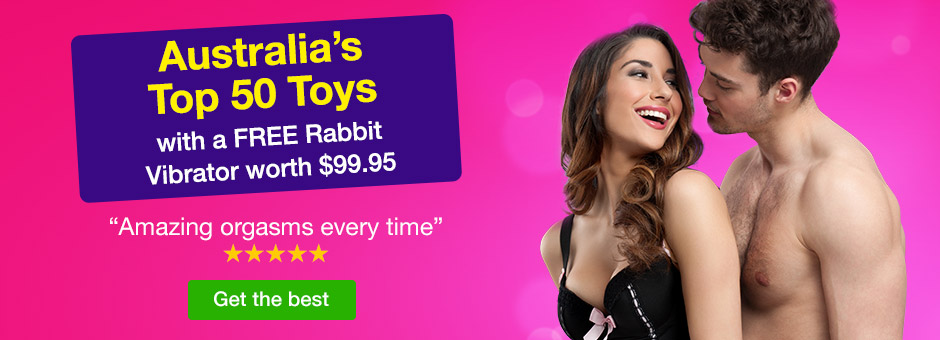 Australia's Top 50 Toys with a FREE rabbit vibe worth $99.95