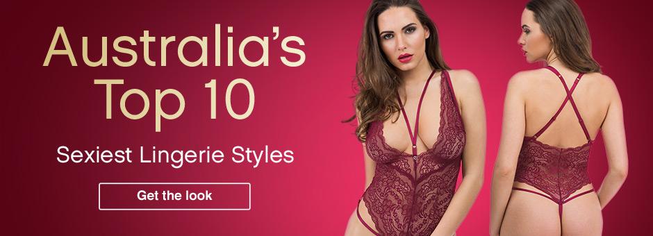 Australia's Top 10 Sexiest Lingerie Styles
