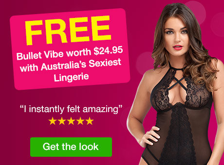 FREE Bullet Vibe worth $24.95 with Australia's Sexiest Lingerie