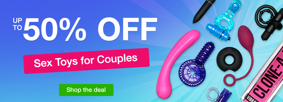 Up to 50% OFF Sex Toys for Couples