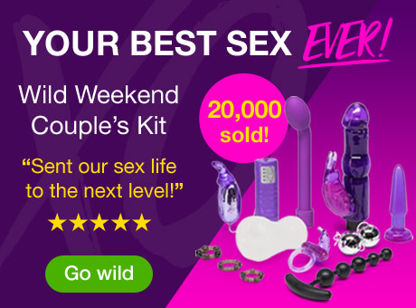 Wild Weekend Sex Toy Kit for Couples