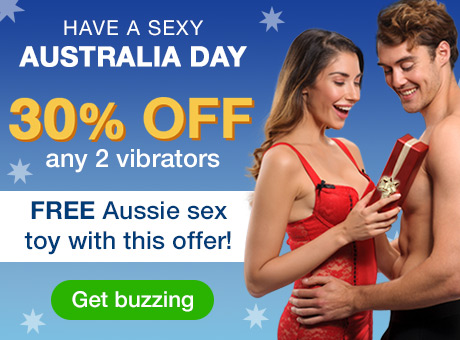 Have a Sexy Australia Day - 30% off any 2 Vibrators!