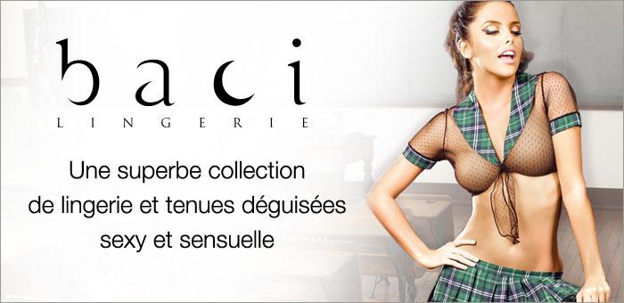 FR bannière marque Baci Lingerie
