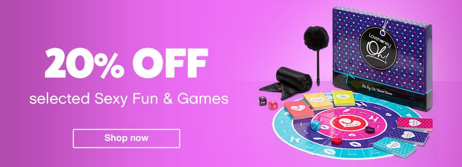 20% off sexy fun games