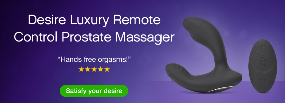 Desire Luxury Remote Control Prostate Massager