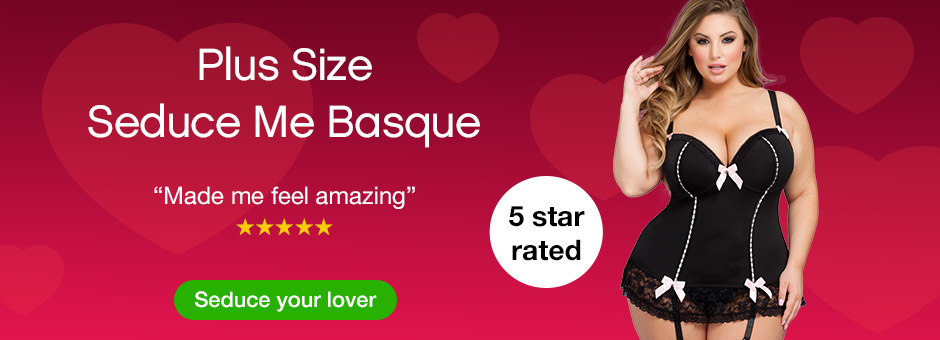 Seduce Me Plus Size Basque