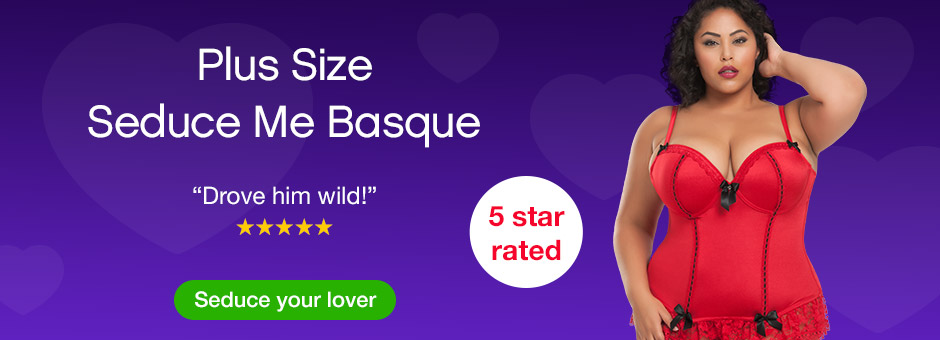 Plus Size Seduce Me Basque