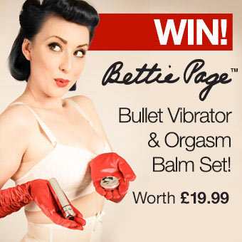 WIN! Bettie Page Buzzin' Bullet and Balm Set