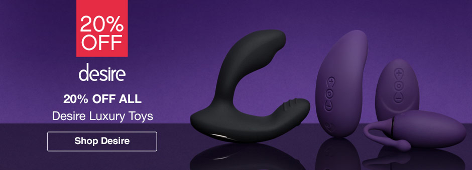 20% off Desire luxury sex toys
