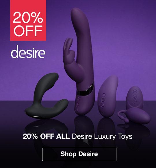 20% off Desire luxury sex toys