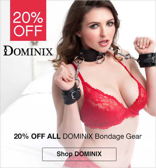 20% off Dominix bondage gear