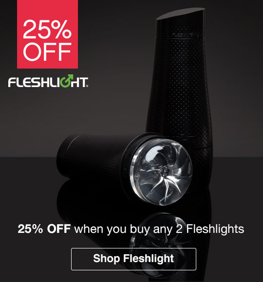 25% off when you buy 2 Fleshlights