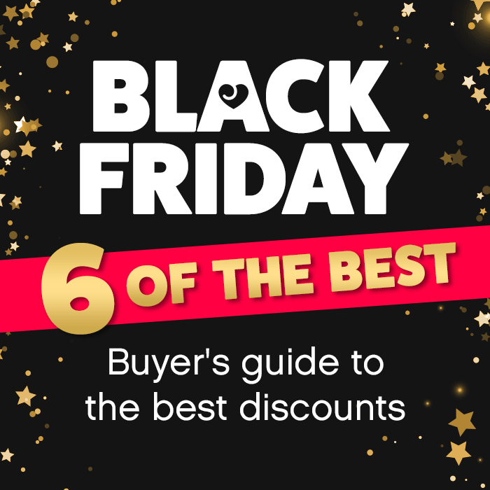Black Friday 6 of the best – Buyer's guide to the best discounts