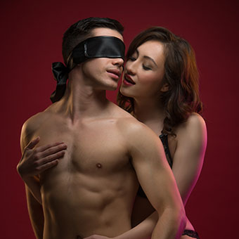 Blindfolded Couple Domination