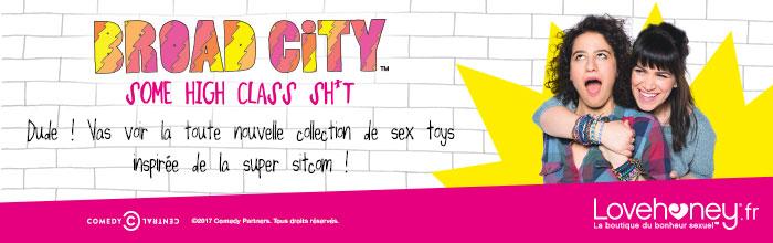 FR bannière sex toys Broad City