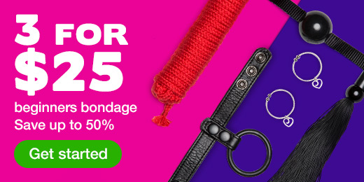 3 for $25 beginners bondage