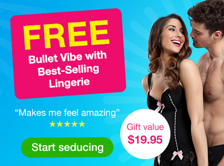 FREE Bullet Vibe with Best-Selling Lingerie