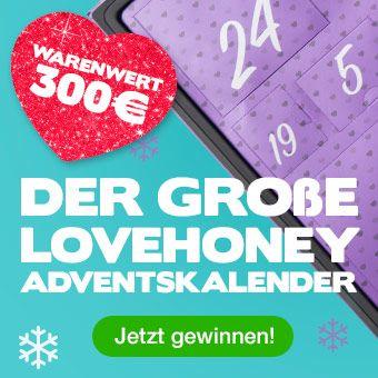 Lovehoney Sexspielzeug-Adventskalender Gewinnspiel