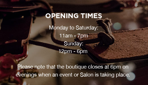Coco de Mer Opening times