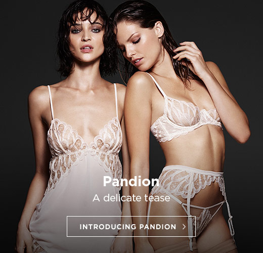 Coco de Mer SS17 Lingerie: Introducing Pandion