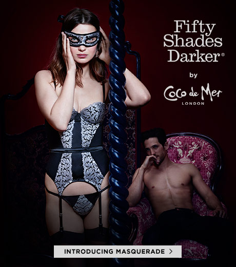 Fifty Shades Darker by Coco de Mer: Masquerade