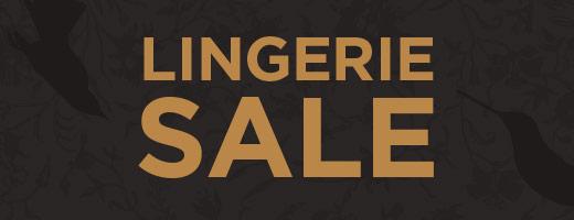 Lingerie Sale