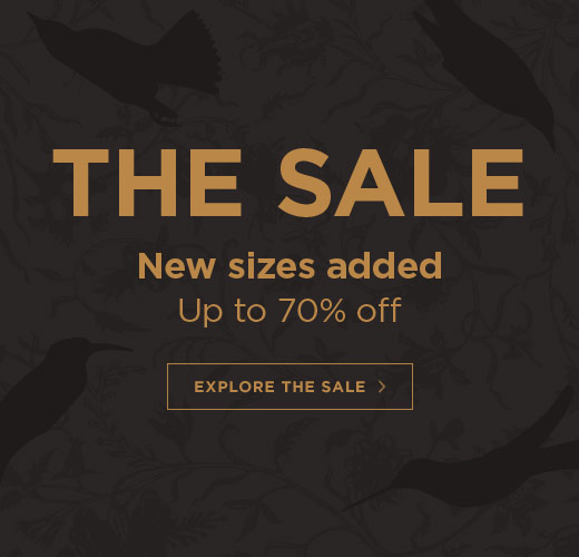 The Sale: New sizes added