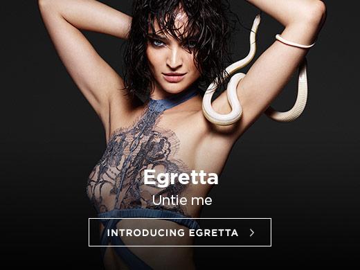 Coco de Mer SS17 Lingerie: Introducing Egretta