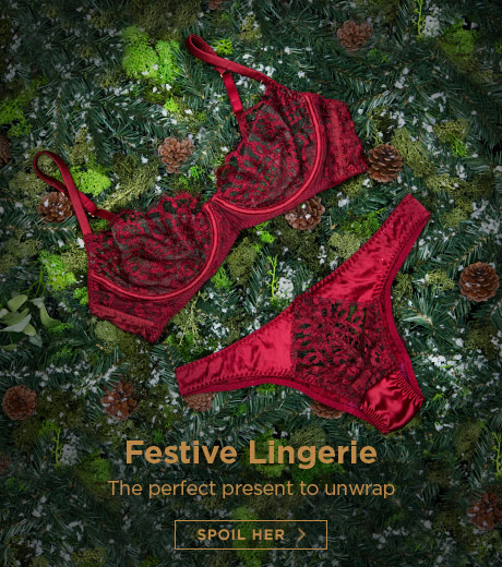Festive lingerie