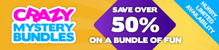 Save OVER 50% on a bundle of fun!